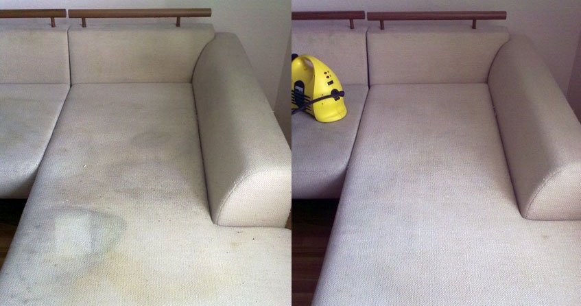 Как вычистить мягкую мебель своими 55